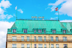 Hotel Adlon Kempinsky a Berlino, Germania Fotografia Stock
