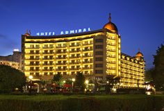 Hotel Admiral in Golden Sands. Bulgaria Royalty Free Stock Photography