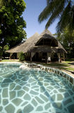 Hotel africano Foto de Stock