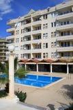 Hotel. Alanya. Turkije. Royalty-vrije Stock Afbeelding