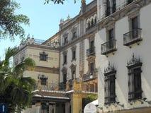 Hotel Alfonso XIII Sevive stock afbeeldingen