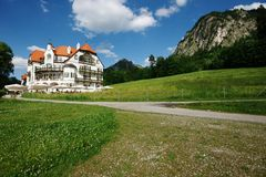 Hotel-Allgaeu-Germany Stock Image