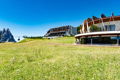 Hotel Alpina Dolomiti, South Tyrol, Northern Italy Stock Photography