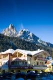 Hotel In Alps Stock Image