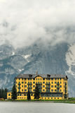 Hotel in the Alps no.1 Stock Photos