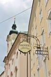 Hotel Amadeus, Salisburgo Fotografia Stock Libera da Diritti