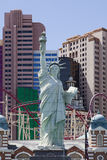 Hotel & casino de New York New York em Las Vegas Imagem de Stock