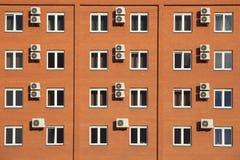 Hotel anaranjado en Rusia Imagen de archivo libre de regalías