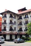 Hotel, Angkor wat city Royalty Free Stock Photo