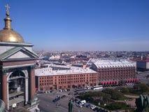 Hotel Angleterre, de plaats van dood van de dichter Sergei Yesenin, St. Petersburg, Rusland stock foto