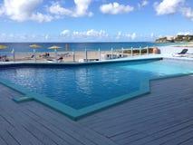 Hotel Anguilla Resort & Spa. Sunny day Caribbean sea Royalty Free Stock Photo