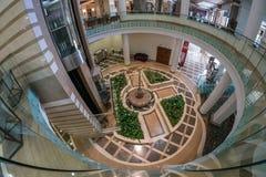 Hotel in antalya. Hotel`s lobby in Antalya, Turkey royalty free stock image
