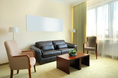 Hotel apartment Stock Photo