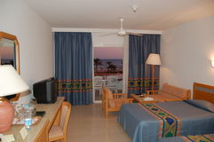 Hotel apartment. Of 5 stars hotel in sharm el shekh Stock Image