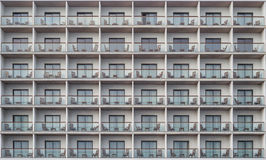 Hotel apartment balcony texture pattern Stock Photos