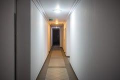 Hotel or apartment block corridor Royalty Free Stock Image