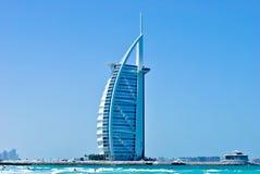 Hotel arabo di Al di Burj in Doubai Immagine Stock