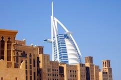 Hotel arabo Doubai di Al di Burj Fotografie Stock Libere da Diritti