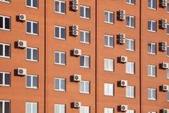 Hotel arancio in Russia fotografia stock libera da diritti
