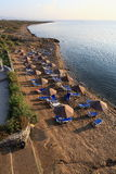 The hotel areal Crystal Rocks, Salamis, Northern Cypru Royalty Free Stock Photography