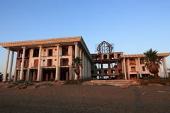 The hotel areal, Salamis, Northern Cypru Stock Photo