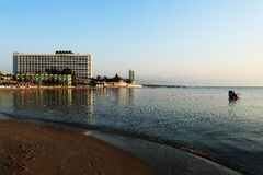 The hotel areal, Salamis, Northern Cypru Royalty Free Stock Image