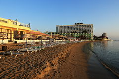 The hotel areal, Salamis, Northern Cypru Royalty Free Stock Photography