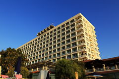 The hotel areal, Salamis, Northern Cypru Royalty Free Stock Images