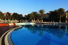 The hotel areal, Salamis, Northern Cypru Stock Photos