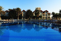 The hotel areal, Salamis, Northern Cypru Stock Photography