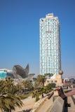 Hotel Arts, Barcelona, Spain Stock Images