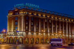 Hotel Astoria Royalty-vrije Stock Afbeelding