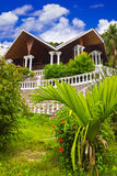 Hotel At Tropical Island Stock Image