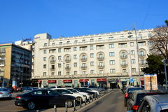 Hotel Athenee Palace in the centre of Bucharest Royalty Free Stock Photo