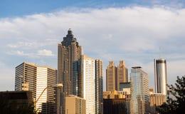 Hotel Atlanta del centro Georg dell'ufficio del Highrise di selezione della costruzione Immagine Stock