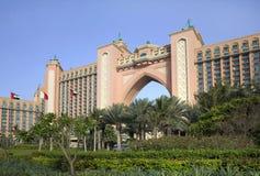 Hotel Atlantis the palm in Dubai. the United Arab Emirates. Royalty Free Stock Photography