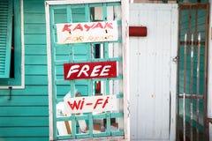 Hotel auf Fischer ` s Bucht, ländliches Aroma in Thailand, hält hou instand Lizenzfreies Stockfoto