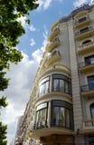 Hotel auf spanisch Barcelona lizenzfreie stockfotos