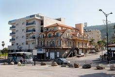 Hotel Aviv in Tiberias Stockbilder