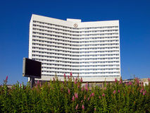 Hotel  Azimut  formerly Arctic in Murmansk, Russia Royalty Free Stock Image