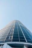 The hotel on the background of blue sky, street Makarenko Stock Photo