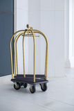Hotel baggage trolley Royalty Free Stock Images