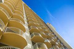 Hotel Balconies Royalty Free Stock Photo