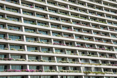 Hotel Balconies Royalty Free Stock Image