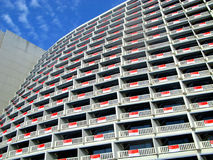Hotel balconies Stock Image