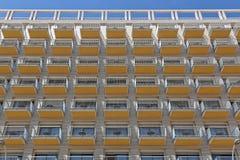 Hotel Balconies Terrace Royalty Free Stock Image