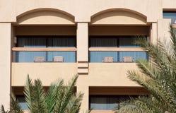 Hotel balcony Stock Image