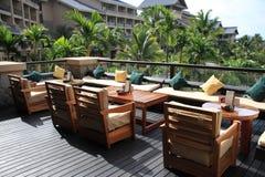 Hotel balcony Stock Photography