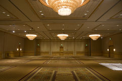 Hotel ballroom Royalty Free Stock Photos