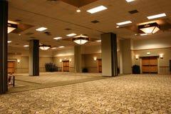Hotel-Ballsaal Stockfoto